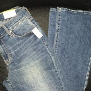 Old Navy Women's 8 Long Jeans NWT